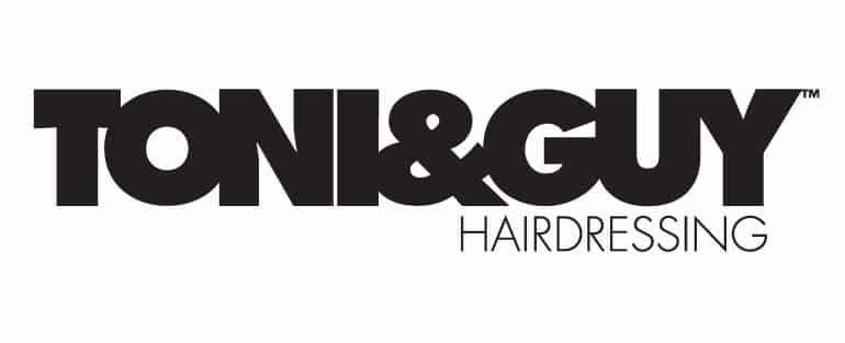 Toni guy logo hairdressing